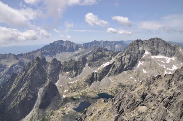 Blick auf das kleinste Hochgebirge Europas.