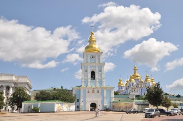Kiev wird auch wegen seiner vielen orthodoxen Kirchen als Jerusalem des Ostens bezeichnet.