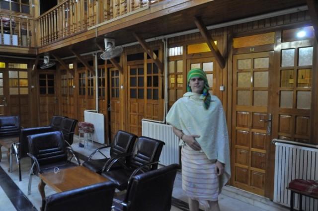 Der Besuch im Hamam war eine gute Entscheidung