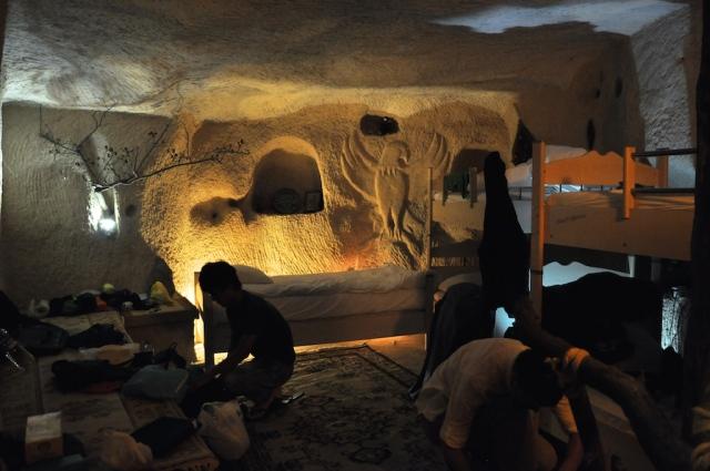 Das Cave Hostel in Göreme war urig und stickig