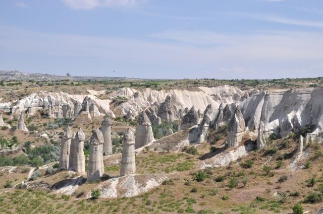 Die Natur hat schon sonderbare Landschaften geschaffen. Wie das