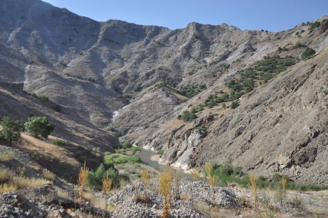Eine landschaftlich beeindruckende Strecke auf 2000 m hoch