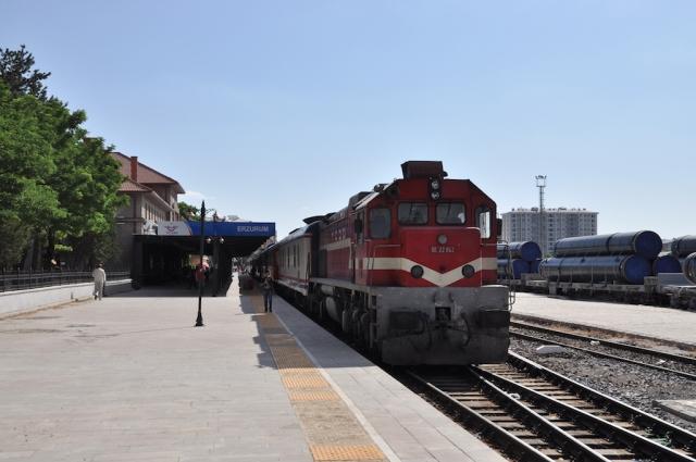 Endstation Erzurum. Mein Zug fährt erstmal nicht mehr weiter