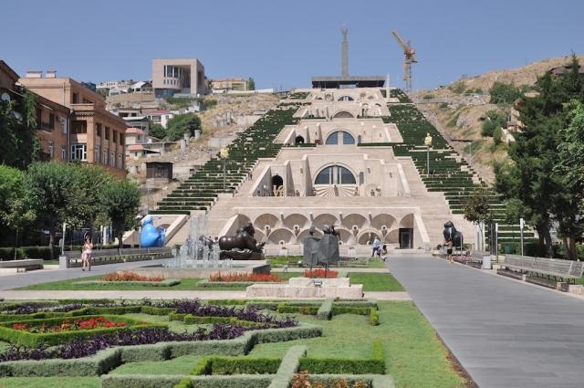 Die Terassen von Yerevan