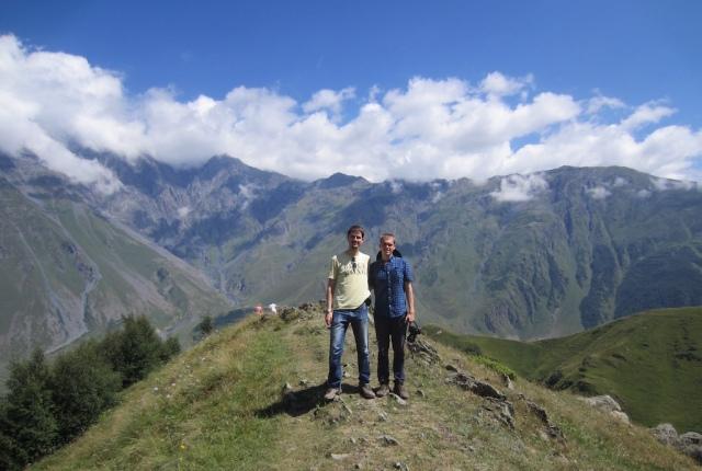 Der Aufstieg zum Kloster auf 2300 m ist geschafft