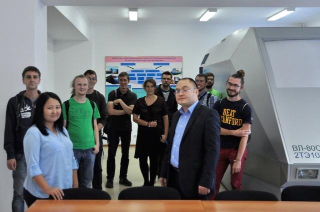 Auf Exkursion mit Verkehrte Welt: Besuch der Verkehrsfakultät in Almaty