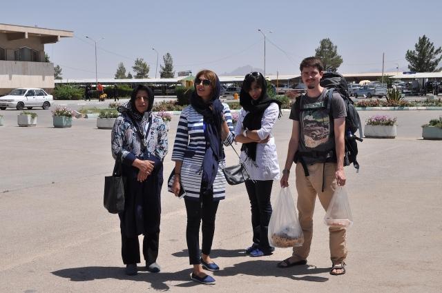 Abschied in Esfahan