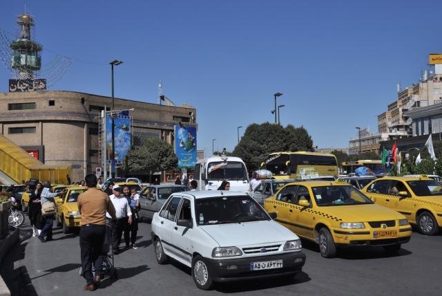Verkehrsaufkommen rund um die Pilgerstätte