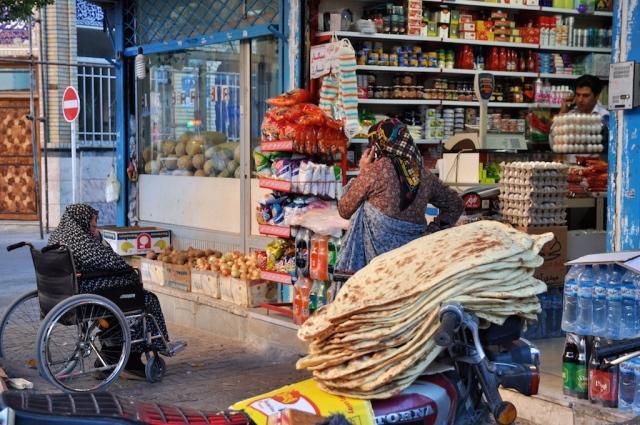Der kleine Straßenhandel ist in islamischen Ländern besonders ausgeprägt