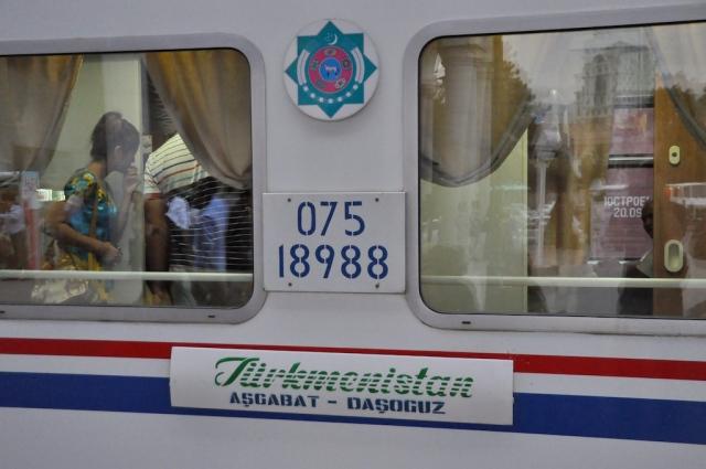 Einer von drei Nachtzugverbindungen, die täglich die Hauptstadt verlassen