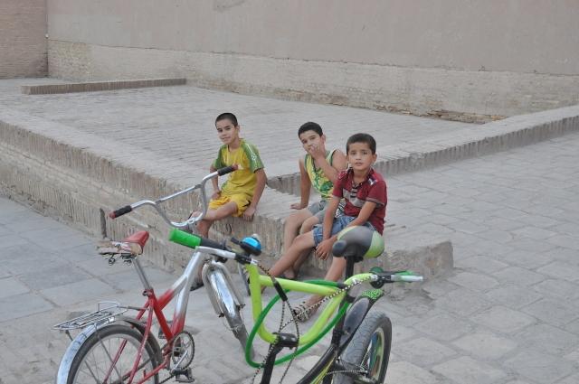 Straßenszene in Khiva
