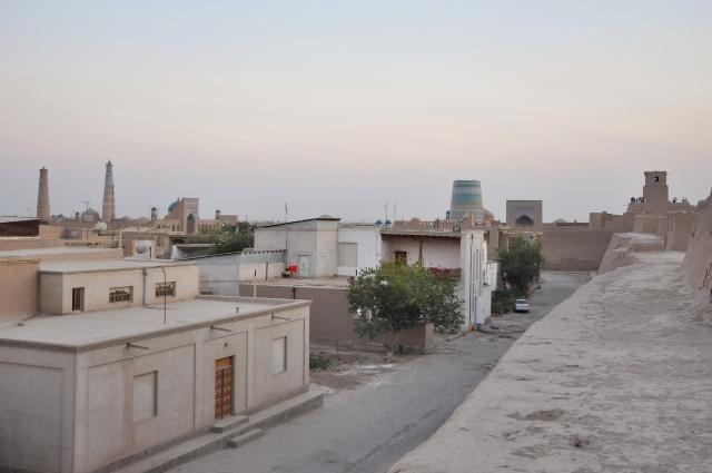 Stadtbefestigung in Khiva