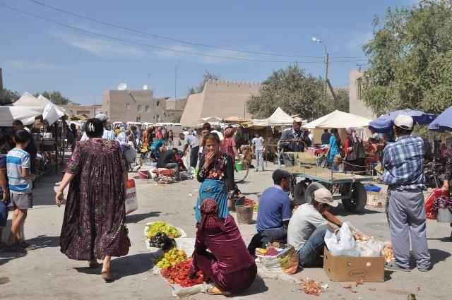 Basar in Khiva