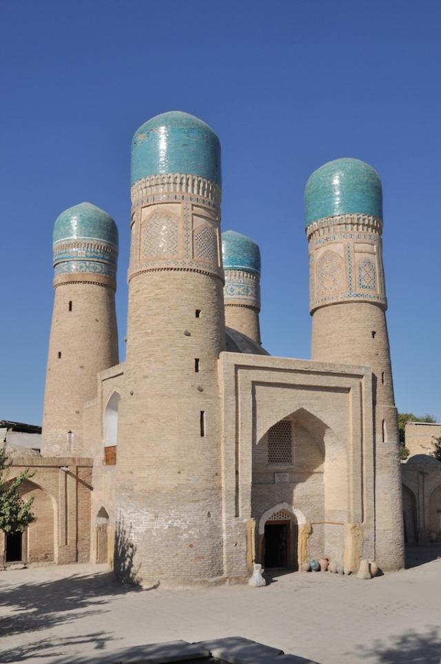 Die wohl schönste Moschee Usbekistans in Buchara